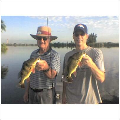 Austin Pittman with Florida Peacock bass