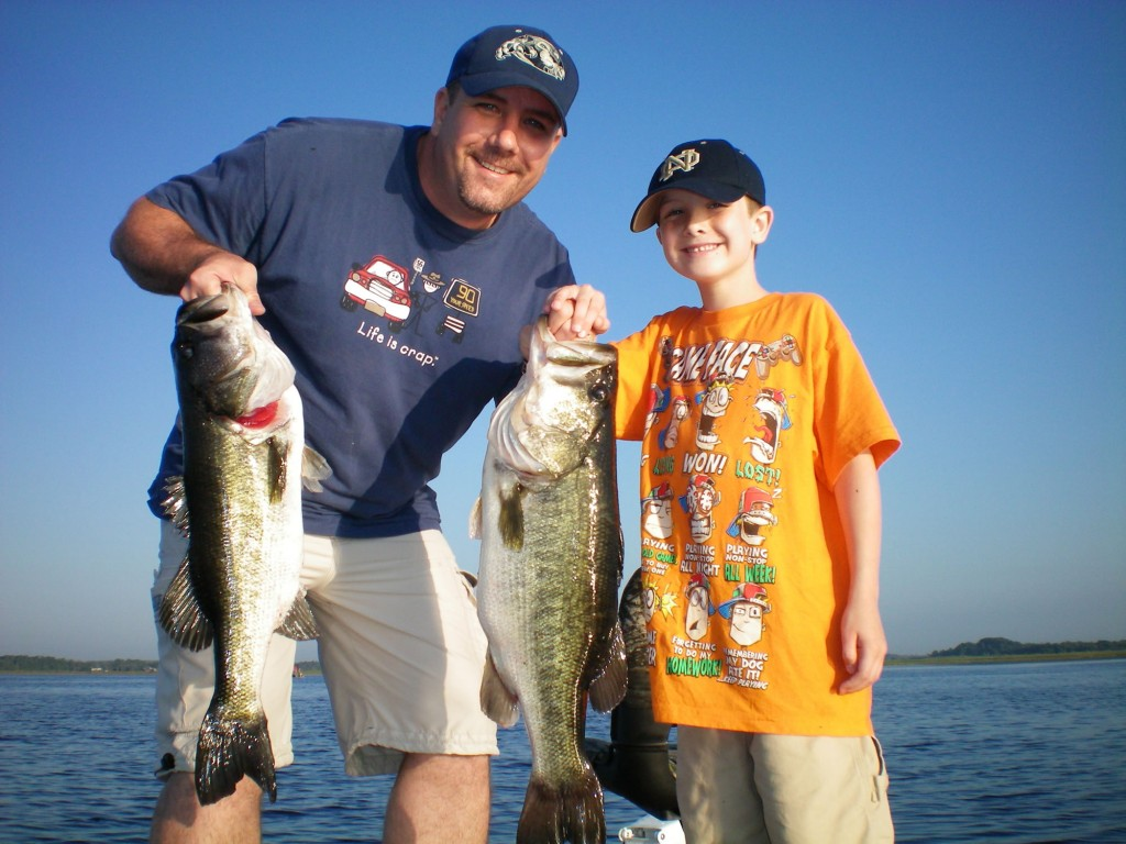 Fantastic father and son orlando fishing trip orlando for Father son fishing