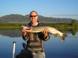 Fred Krause picture UT fishing musky 2