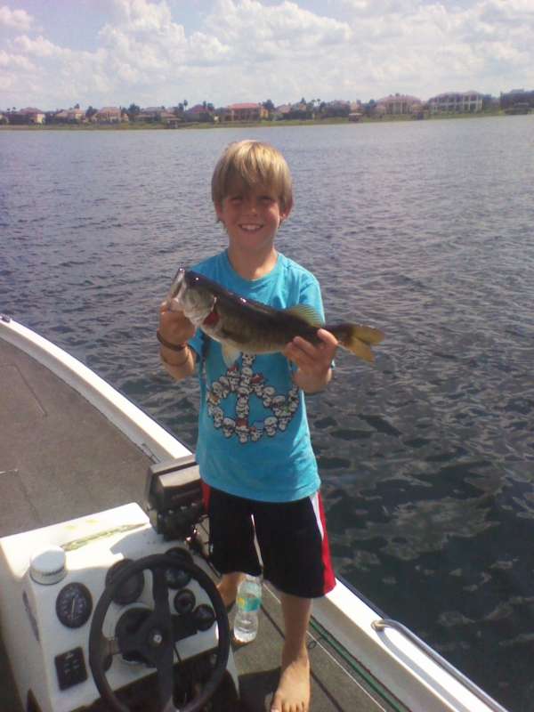 Capt kip bass fishing in orlando florida orlando bass for Bass fishing orlando