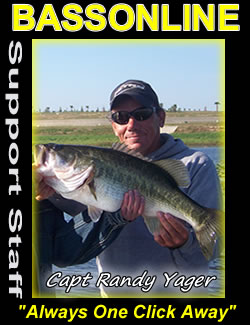 central florida fishing guides - Capt Randy Yager