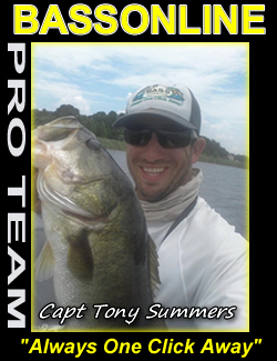 Captain Tony Summers - Orlando Florida Guide