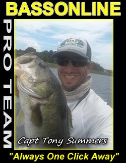 Captain Tony Summers - Orlando Florida Guide