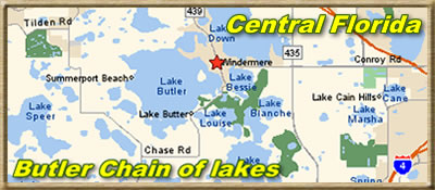 Butler Chain of Lakes most popular lakes