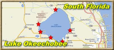 Lake Okeechobee Map