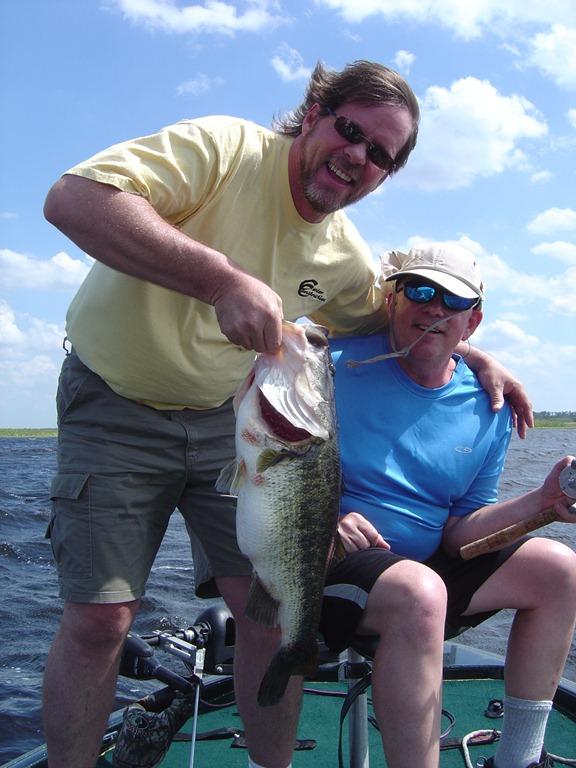 Fishing report for orlando florida bass fishing florida for Ky lake fishing report jonathan creek