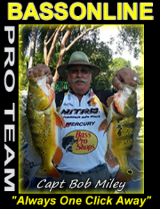 Lake Okeechobee fishing guides - Capt Bob Miley