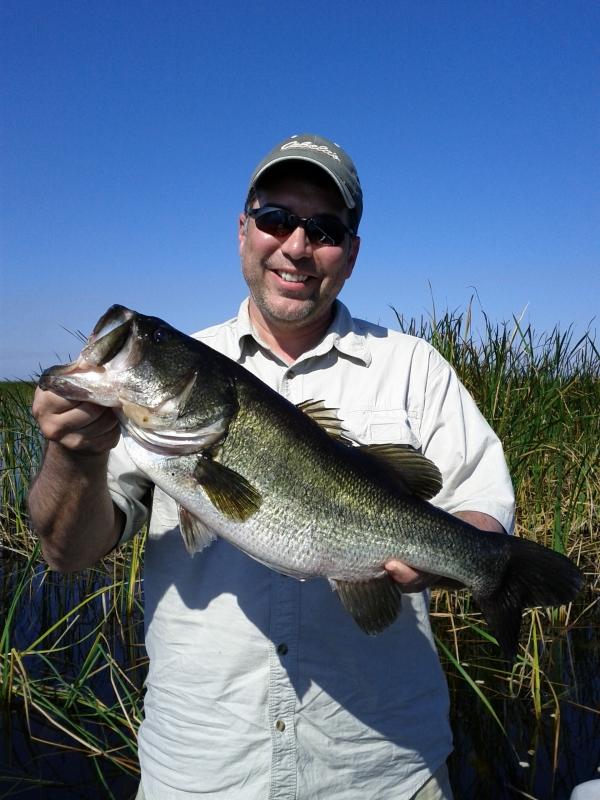 Bass Fishing, Lake Okeechobee, Largemouth bass