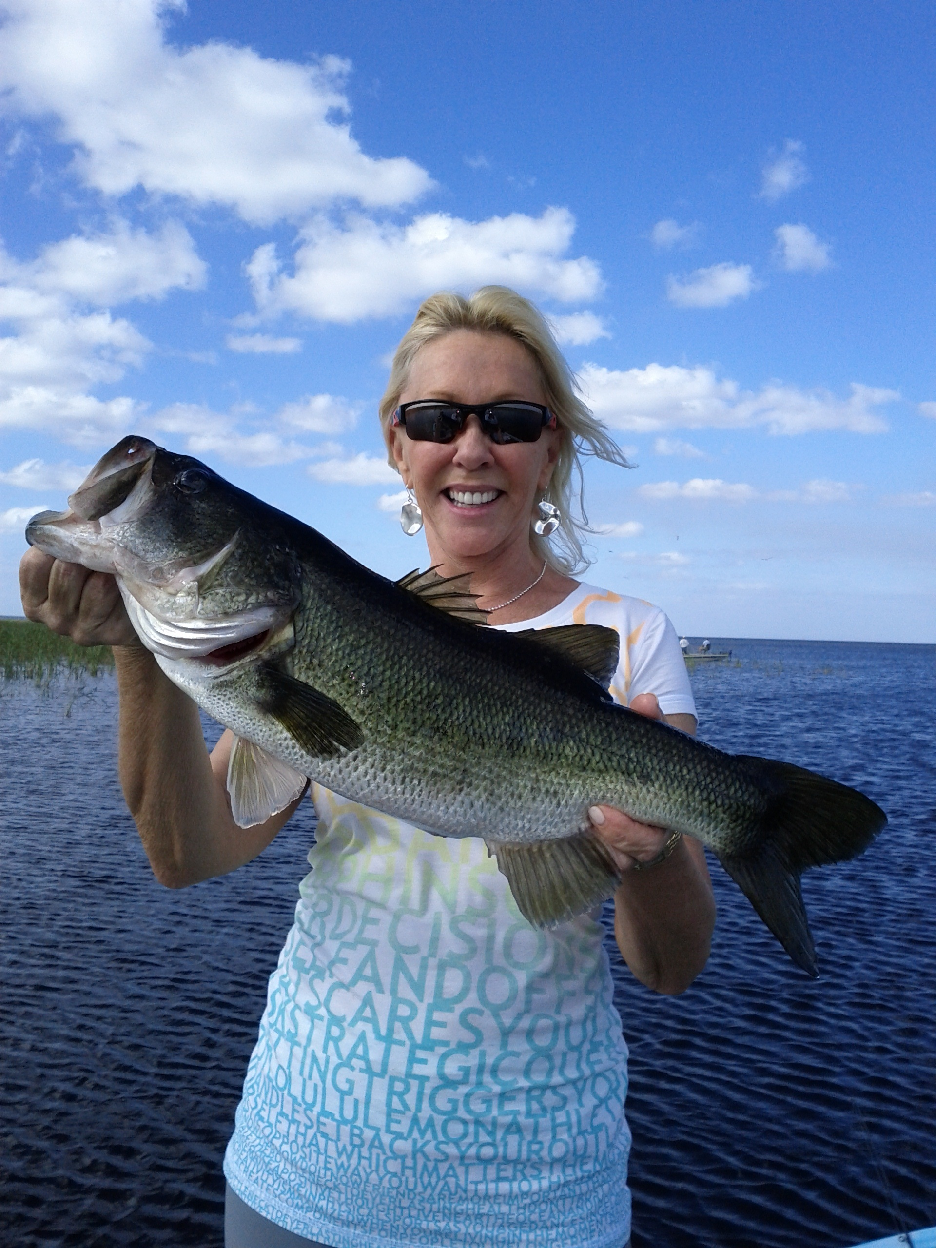 These women can fish central florida bass guides for Bass fishing tournaments in florida