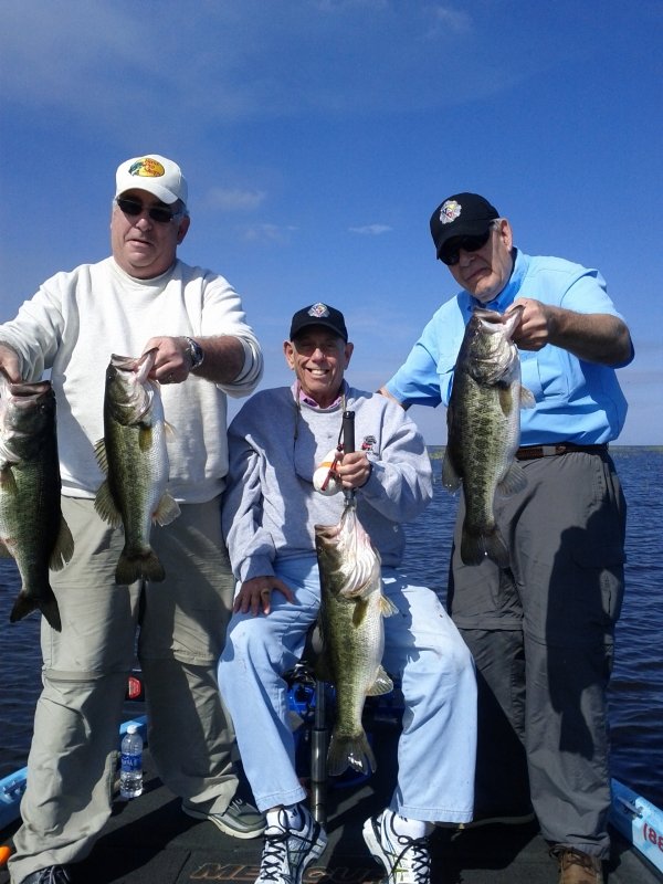 Lake Okeechobee Fishing with Capt Mark Shepard