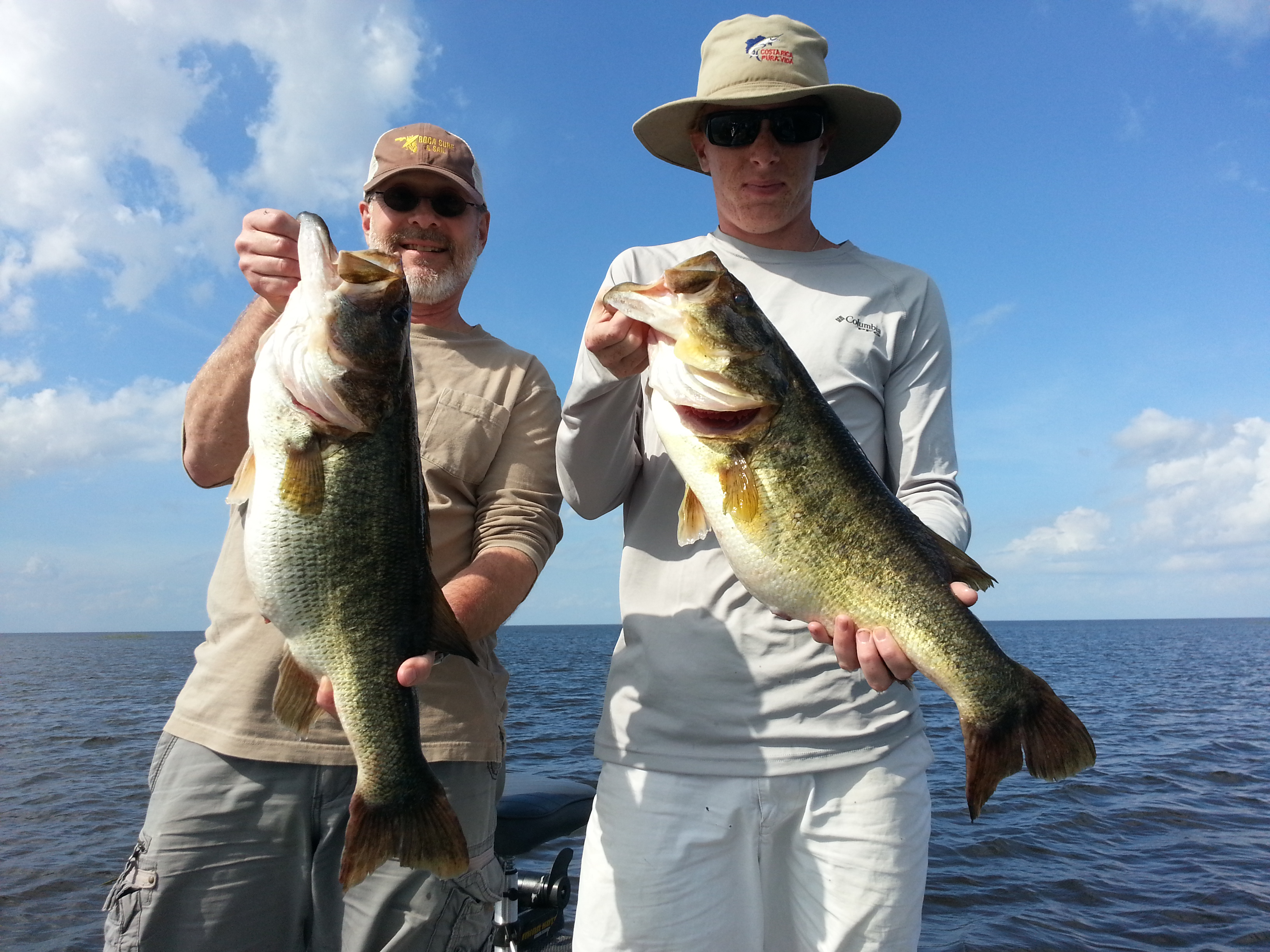 Trophy largemouth archives slims fish camp for Lake okeechobee fish camps