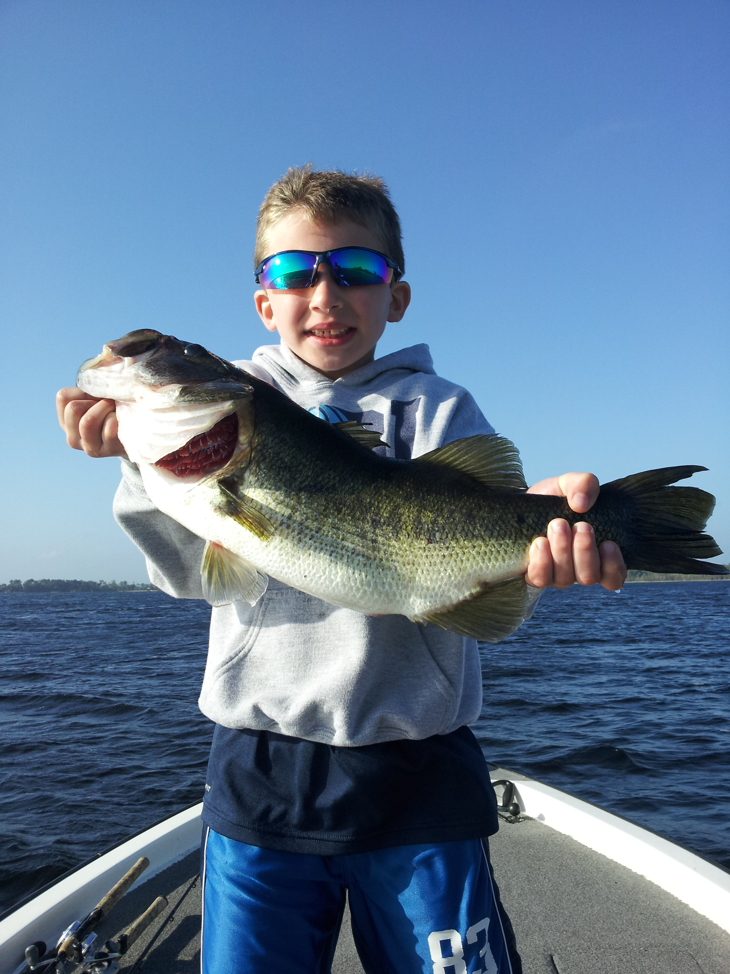 Father and son florida fishing trip bass fishing florida for Bass fishing disney world