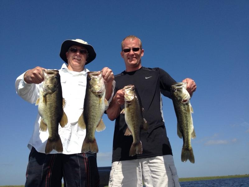 Peter and Jeff on Lake Garcia