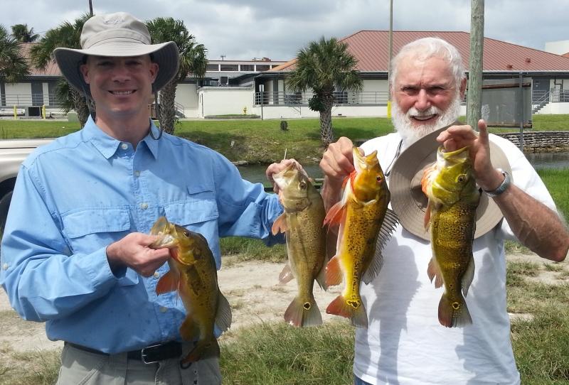 Bass fishing experts for Peacock bass fishing miami