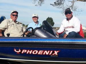 Trophy Catch bass boat