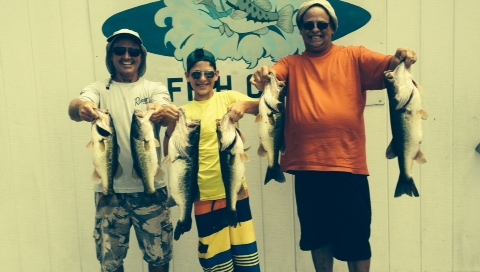 Florida Bass Fishing Trip