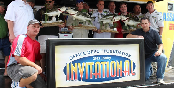 Office Depot Corportae Fishing trip