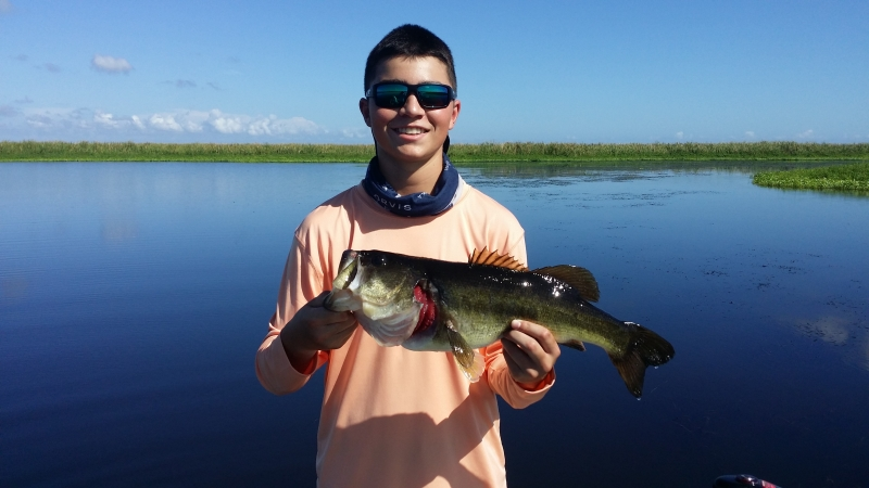Summertime Lake Okeechobee Guide Service