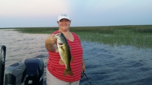 Lake Okeechobee with Ted and Cynthia of North Carolina