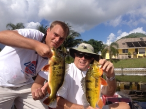 Fishing Lake Osborne with Jeffery White and Son