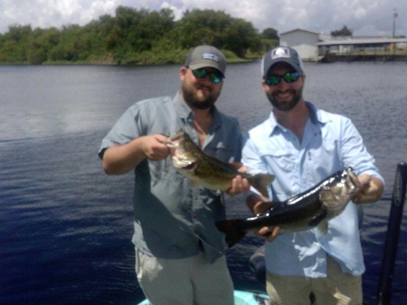 Okeechobee Fishing around Kings Bar