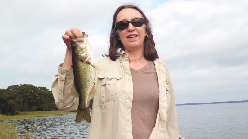 Today's Fishing Report on the Harris Chain of Lakes