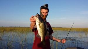 Catching HUGE Bass on Lake Okeechobee