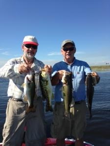 Captain Doug Jansen Reporting for Lake Okeechobee