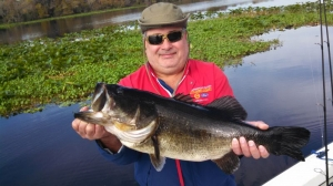 Scott ended up Catching one more that Weighted (10 lb - 2 oz)