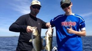 Johns lake fishing