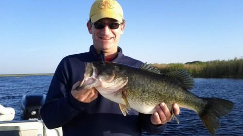 Darren Burns Orlando bass fishing