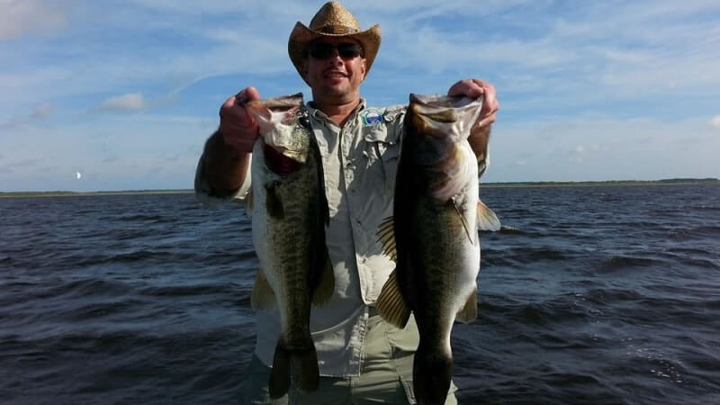 Ken Coon on Lake Toho in Kissimmee