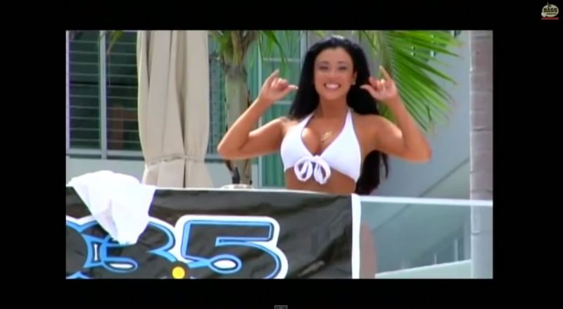 Video ESPN Miami Hoestead Speedway Fishing Show