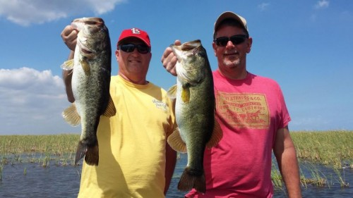 Pretty good amount of fish and quality along with it! Just another great day on Lake Okeechobee.