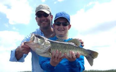 Boys went fishing today