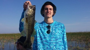 First time catching a Large Mouth Bass