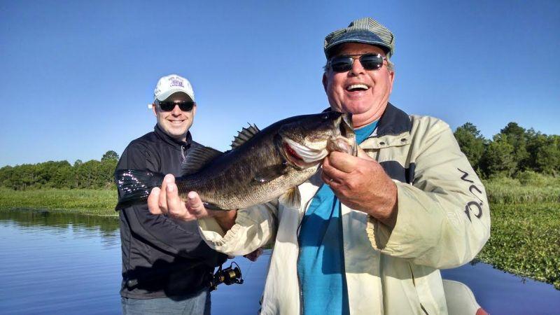 lake toho fishing trips