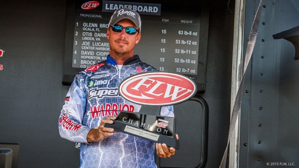 Bass Online Guide Glenn Browne Wins Rayovac Series
