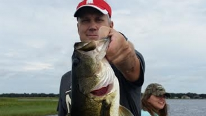 Lake Toho front coming in makes for Hot Fishing