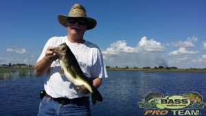 Day out on Lake Okeechobee with Tom and Deb