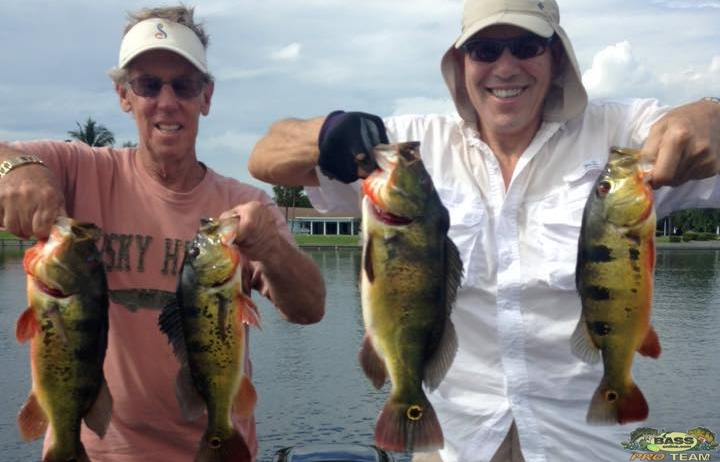 Captain Doug Jansen on Lake Ida with Repeat Customers