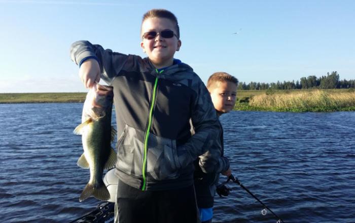 Great Bass fishing on Lake Okeechobee