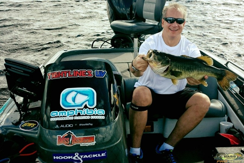 Bass fishing Rodman Reservoir