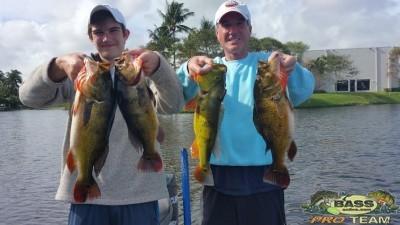 Lake Ida Peacock fishing report
