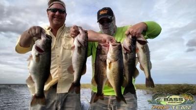Fresh water Bass fishing Lake Okeechobee report