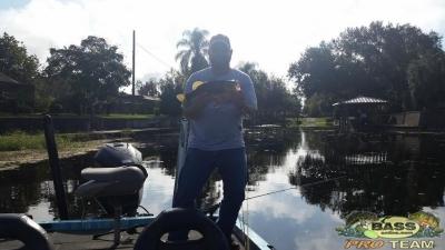 Bass fishing Lake Toho