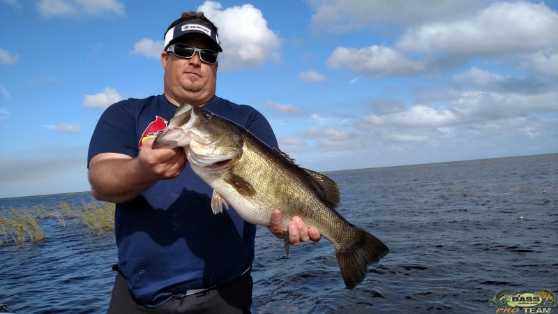 Florida bass fishing report lake okeechobee with capt for Fishing report truman lake