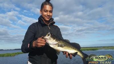 Largemouth Bass fishing report