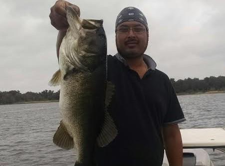 lake Toho Largemouth Bass fishing report