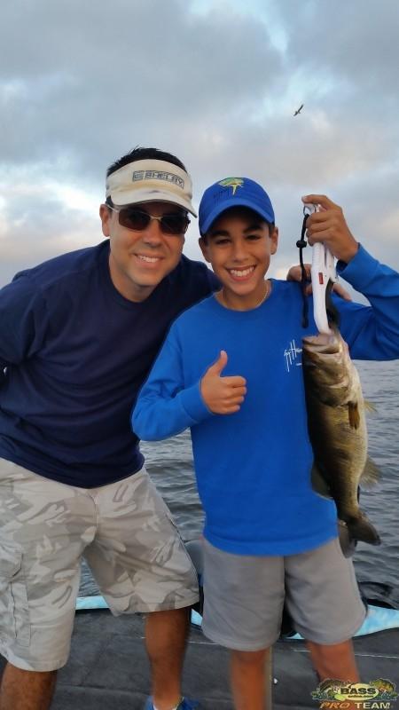 South Florida Lake Okeechobee Bass fishing report